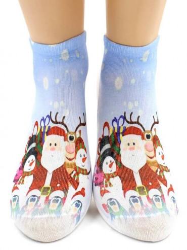 Носки Hobby Line HOBBY 3Д104-03 носки детские Новогодние персонажи