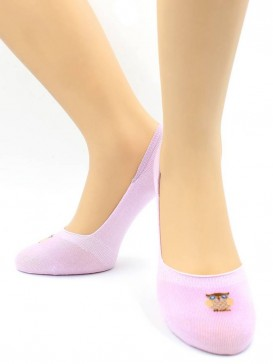 Носки Hobby Line HOBBY 18-06 носки невидимые женские х/б, совушка