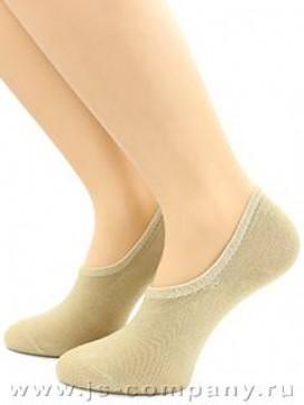 Носки Hobby Line HOBBY ННЖБК носки невидимые женские бамбук, однотонные