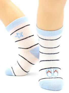 Носки Hobby Line HOBBY 133 носки детские сеточка х/б, морские