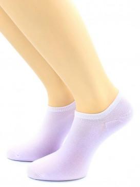 Носки Hobby Line HOBBY 562-02 носки укороченные женские х/б, сиреневый