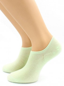 Носки Hobby Line HOBBY 562-09 носки укороченные женские х/б, зеленый