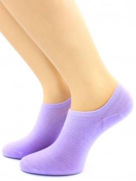 Носки Hobby Line HOBBY 562-10 укороченные женские х/б, фиолетовый