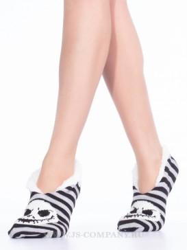 Носки Hobby Line HOBBY 38208-1 женские носки укороченные с мехом внутри Джек